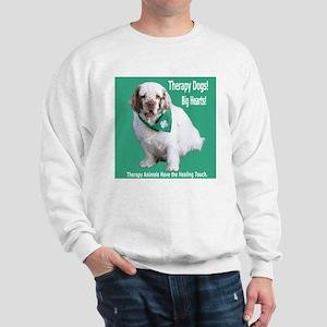"""Therapy Dogs! Big Hearts!"" Sweatshirt"