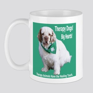 """Therapy Dogs! Big Hearts!"" Mug"
