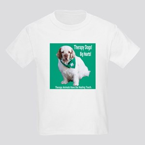 """Therapy Dogs! Big Hearts!"" Kids T-Shirt"