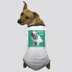 """Therapy Dogs! Big Hearts!"" Dog T-Shirt"