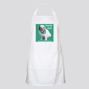"""""""Therapy Dogs! Big Hearts!"""" BBQ Apron"""