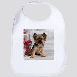 Yorkshire Terrier Holiday Bib