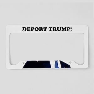 DEPORT TRUMP License Plate Holder