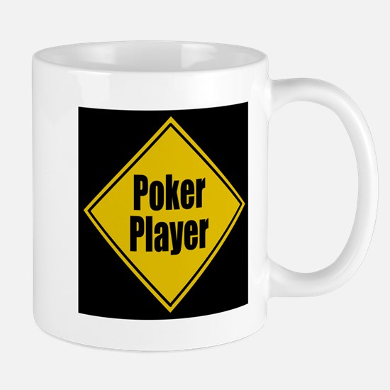 Poker Player Warning! Mug