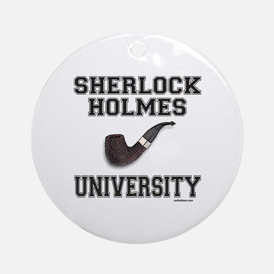SHERLOCK HOLMES Ornament (Round)