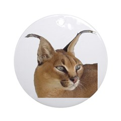 Caracal Ornament (Round)