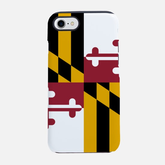 Flag of Maryland iPhone 7 Tough Case