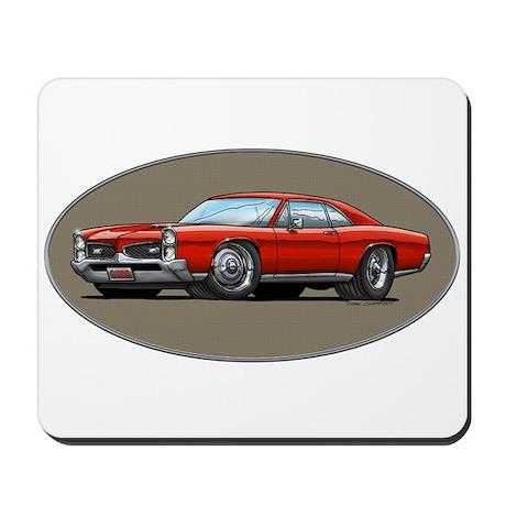 66-67 Red GTO Mousepad