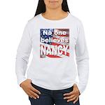 No one NANCY Women's Long Sleeve T-Shirt