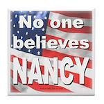 No one NANCY Tile Coaster