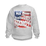 No one NANCY Kids Sweatshirt