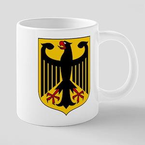 German Coat of Arms 20 oz Ceramic Mega Mug