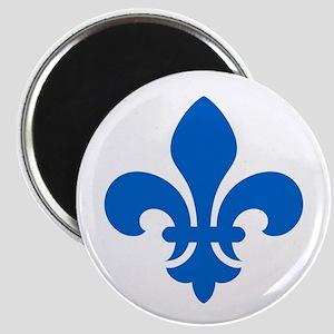 Blue Fleur-de-Lys Magnet