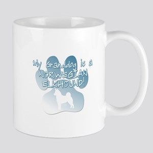 Norwegian Elkhound Granddog Mug