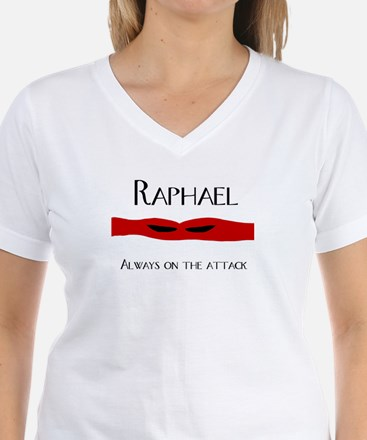 Raphael, always on the attack shirt