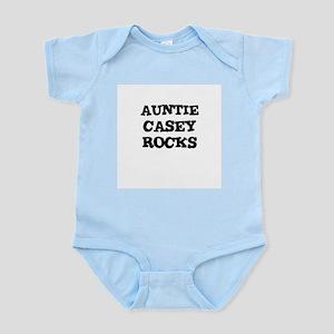 AUNTIE CASEY ROCKS Infant Creeper