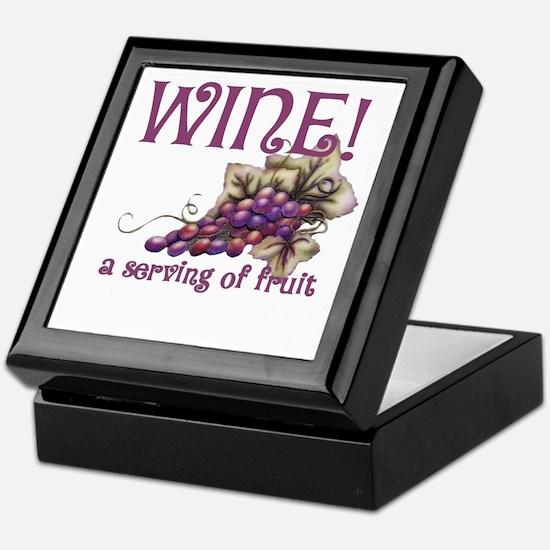 A Serving of Fruit Keepsake Box