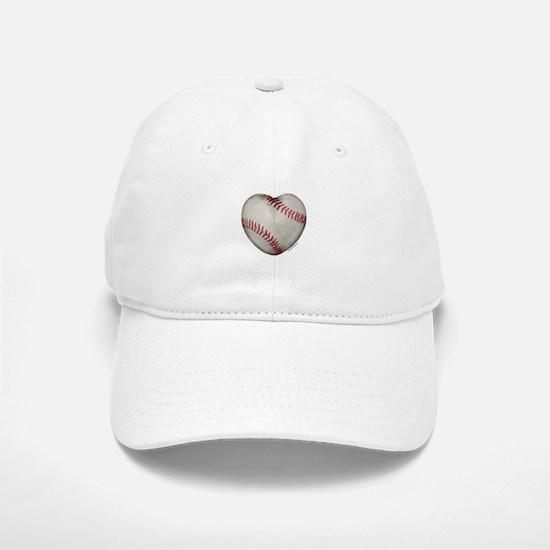 Softball Love Baseball Baseball Cap