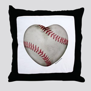 Softball Love Throw Pillow