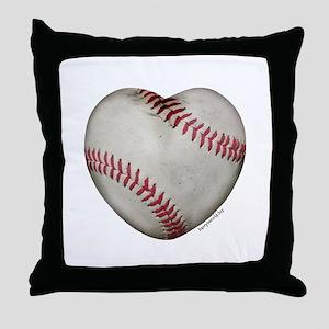Softball Love Throw Pillow