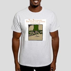 Bungalow Woodcut Light T-Shirt