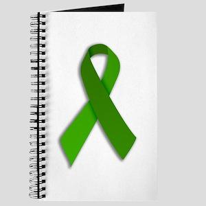 Journal Green Ribbon