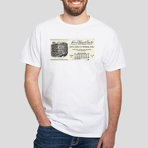 Leonard Krower White T-Shirt