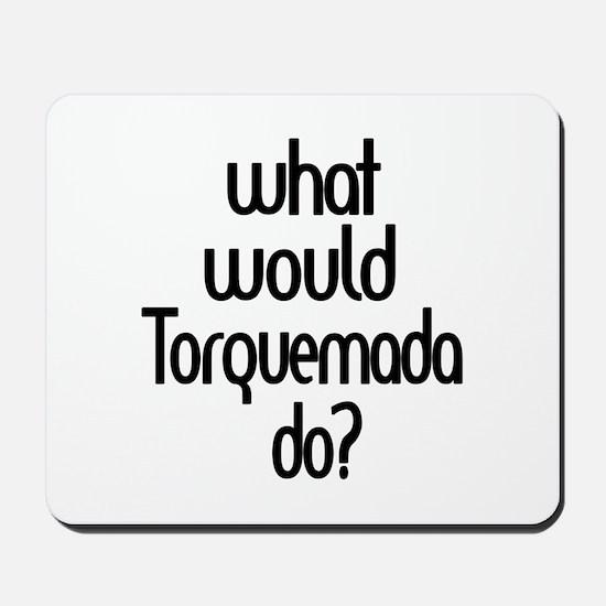 Torquemada Mousepad