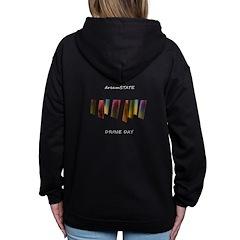 Dreamstate Women's Zip Hoodie Sweatshirt