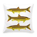 Golden Mahseer Everyday Pillow