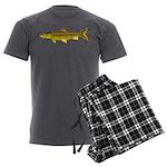 Golden Mahseer Men's Charcoal Pajamas