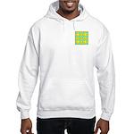 Dutch Gold And Yellow Design Hooded Sweatshirt