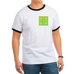 Dutch Gold And Yellow Design Ringer T