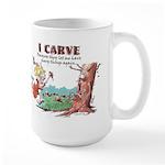 Sharp Things Large Mug