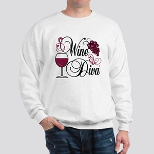 Wine Diva Sweatshirt