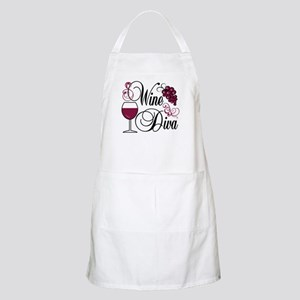 Wine Diva BBQ Apron