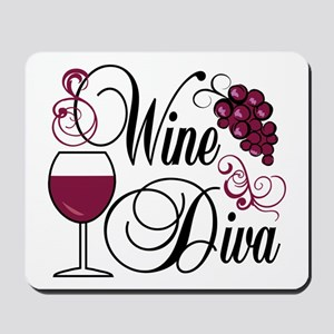 Wine Diva Mousepad