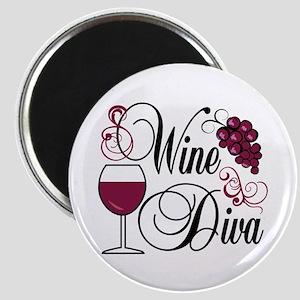 Wine Diva Magnet