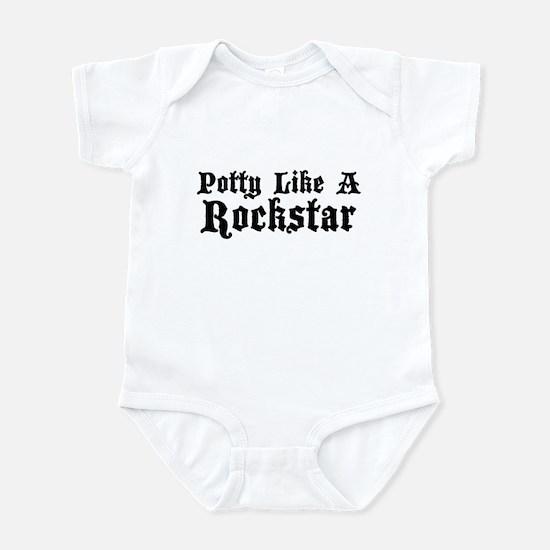 Potty Like A Rockstar Infant Bodysuit