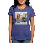 Fish Meets Dachshund Womens Tri-blend T-Shirt