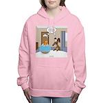 Fish Meets Dachshund Women's Hooded Sweatshirt