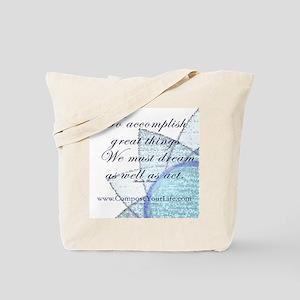 Inspirational Life Coaching Tote Bag