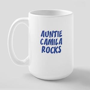 AUNTIE CAMILA ROCKS Large Mug