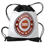 Conservative Vision Drawstring Bag