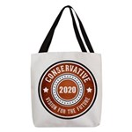 Conservative Vision Polyester Tote Bag