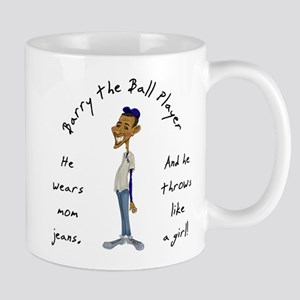 Barry the Ball Player Mug