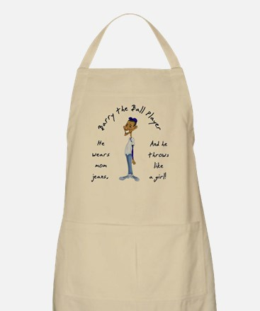 Barry the Ball Player BBQ Apron