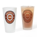 Conservative Vision Drinking Glass