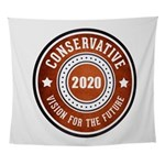 Conservative Vision Wall Tapestry