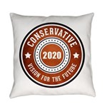 Conservative Vision Everyday Pillow